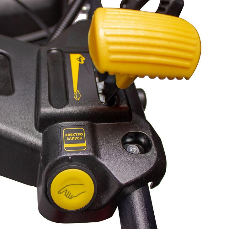 Ручной стартер и электростартер у Champion LM5346E