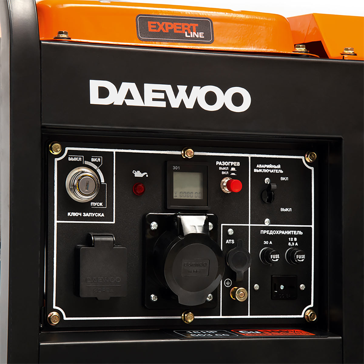 Дисплей генератора Daewoo DDAE 11000XE
