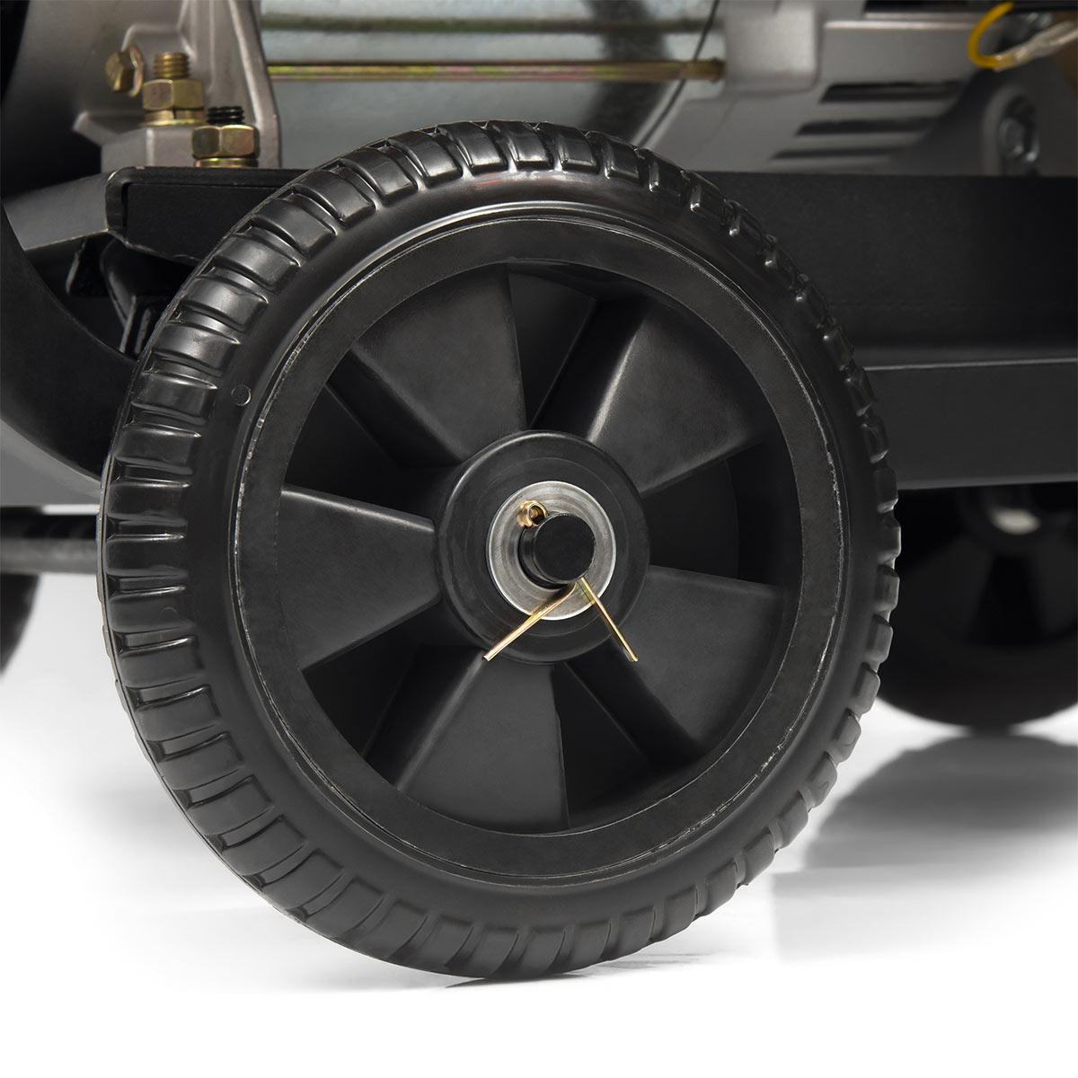 Транспортировочные колеса генератора