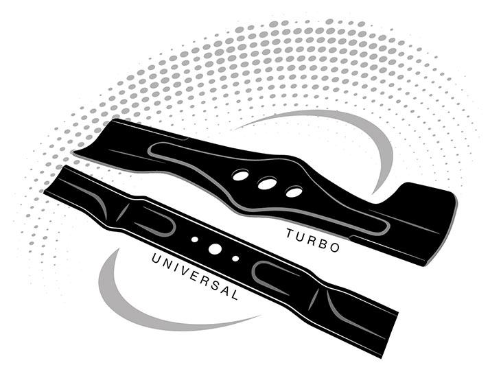 2 ножа в комплекте у DAEWOO DLM 50SP