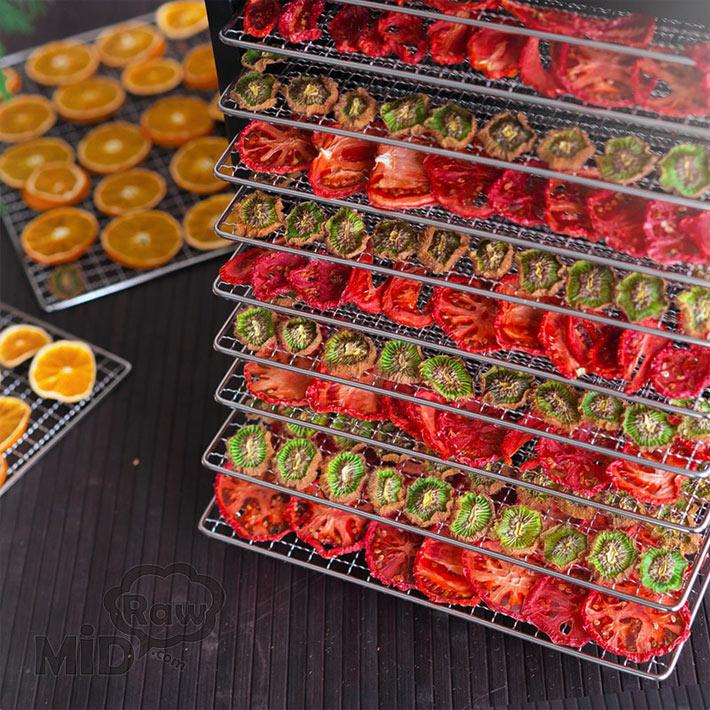 Сушка овощей и фруктов