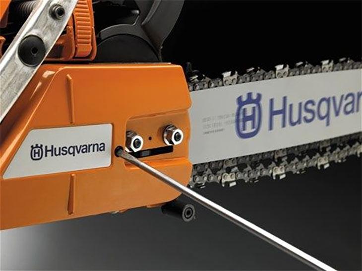 Натяжитель цепи у Husqvarna 353