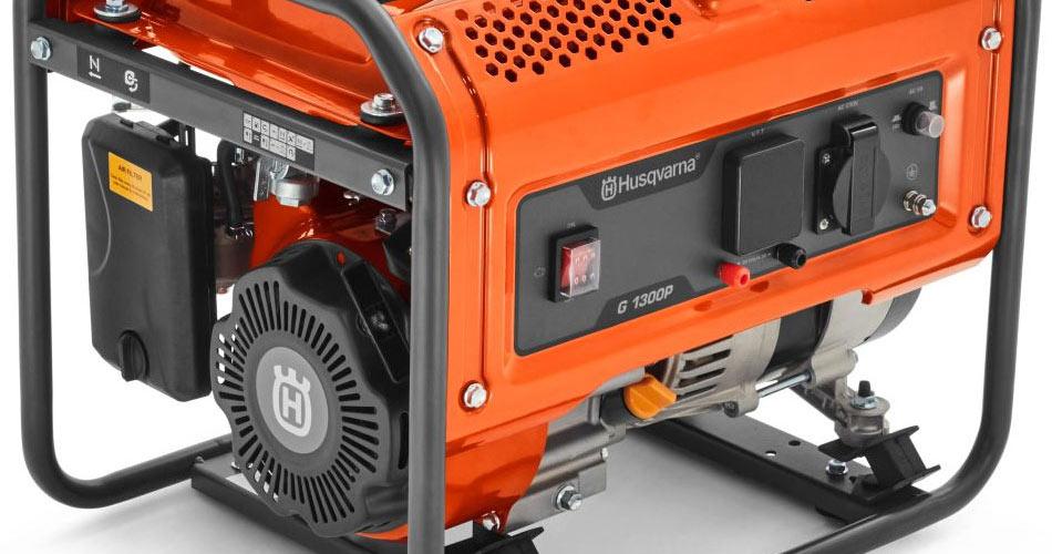 Панель управления генератора Husqvarna-G1300P