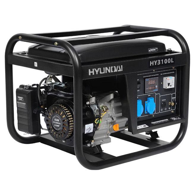бензиновый генератор hyundai hy3100le отзывы