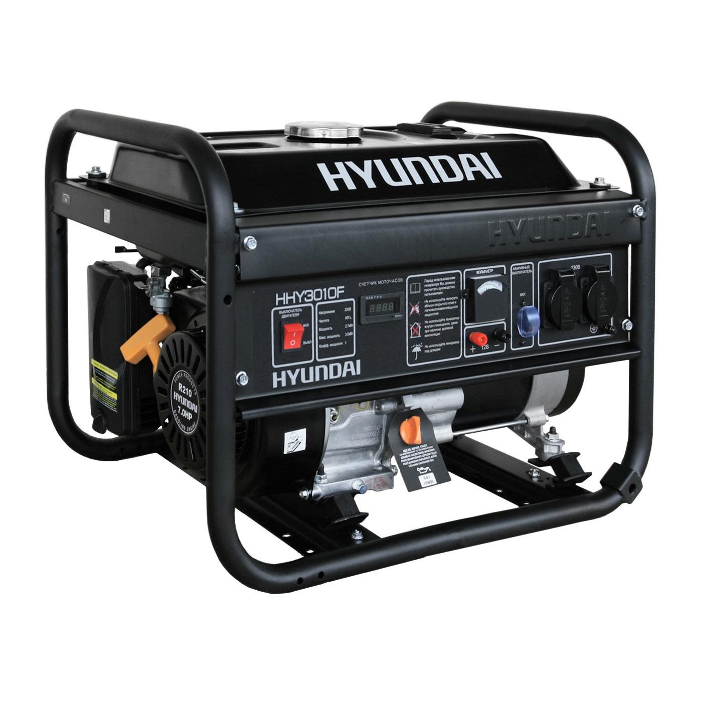 бензиновый генератор hyundai hy2000si