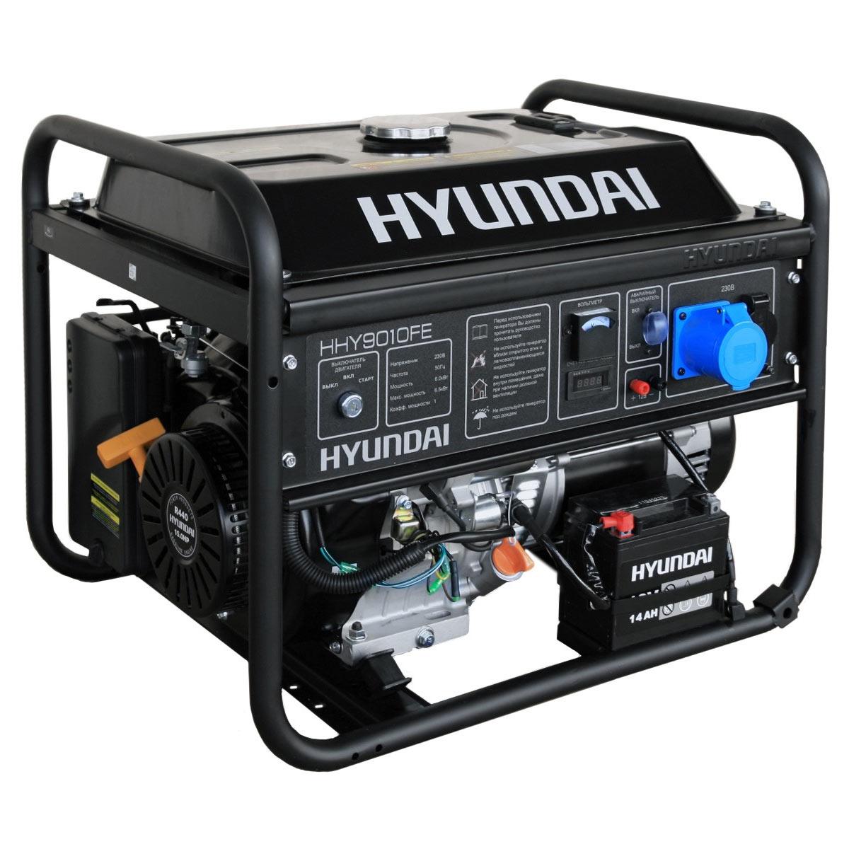 бензогенератор хундай hyundai инструкция
