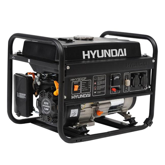 руководство по эксплуатации электрогенератора hyundai hhy3000f