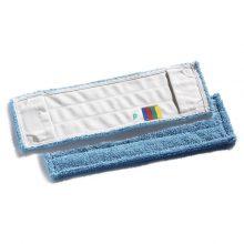 Моп TTS Microblue для гладких полов, микроволокно, 40х13 см