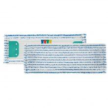 Моп TTS с держателями, микрофибра, в полоску, белый/синий, 40x13 см