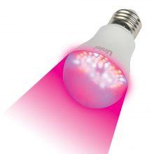 Фитолампа Uniel LED-A60-9W/SP/E27/CL ALM01WH