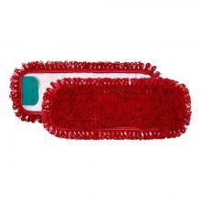 TTS Microriccio с держателями, микрофибра, красный, 40x13 см