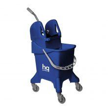 Ведро на колесах HQ Profiline с отжимом, синее, 31 л