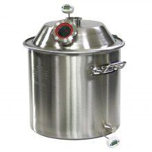 Бак ПО ЗВЕЗДА конус с люком для дистиллятора на 35 литров