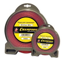 Корд триммерный Champion Spiral Pro (витой), 2.4 мм, 86 м