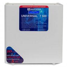 Стабилизатор напряжения ЭНЕРГОТЕХ UNIVERSAL 7500 (LV)