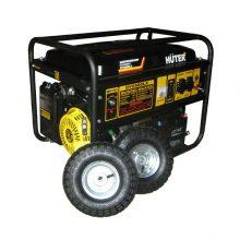 Huter DY6500LX с колёсами и аккумулятором