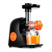Шнековая соковыжималка Kitfort КТ-1111-2, оранжевая