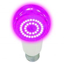 Фитолампа Uniel LED-A60-14W/SPSB/E27/CL PLP30WH