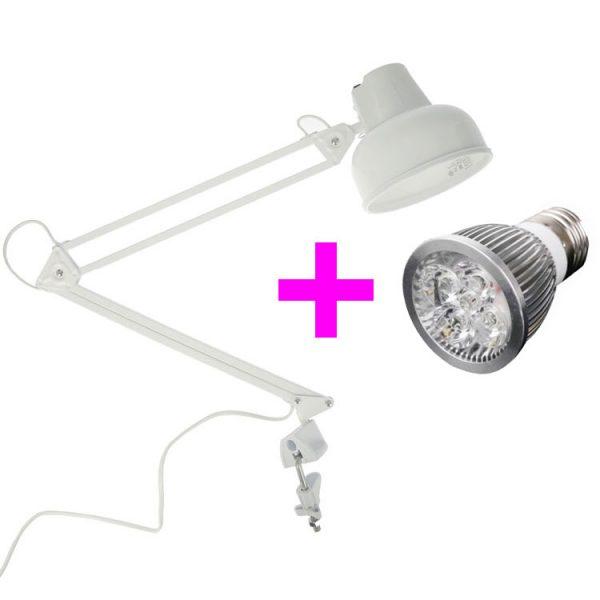 Светильник со светодиодной фитолампой 10 Вт