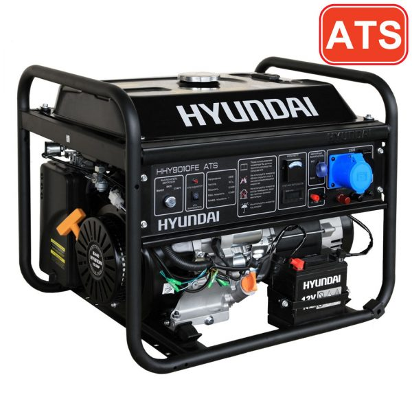 Бензогенератор Hyundai HHY9010FE ATS