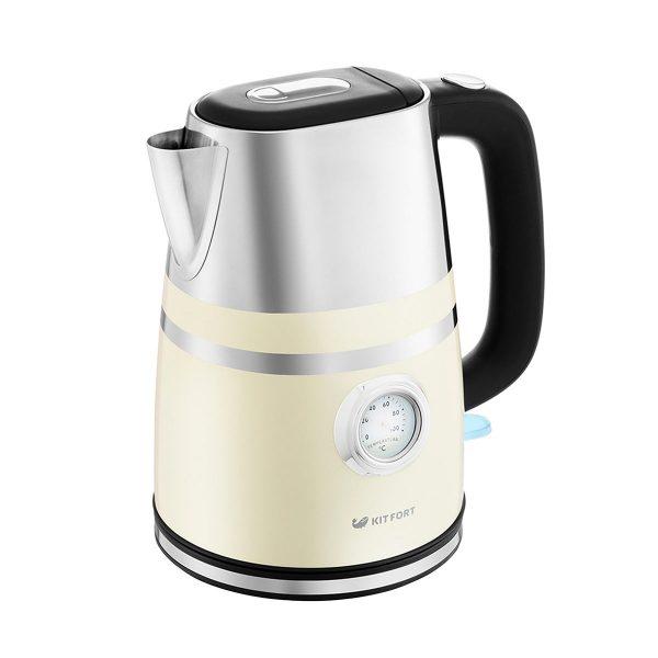 Чайник Kitfort КТ 670 3, бежевый