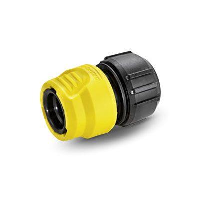 Универсальный коннектор с аквастопом 1/2'' - 5/8''- 3/4'', мягкие захваты