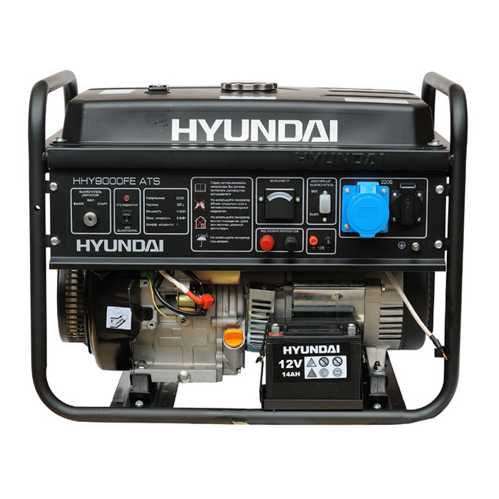бензиновый генератор hyundai hhy9000fe санкт-петербург