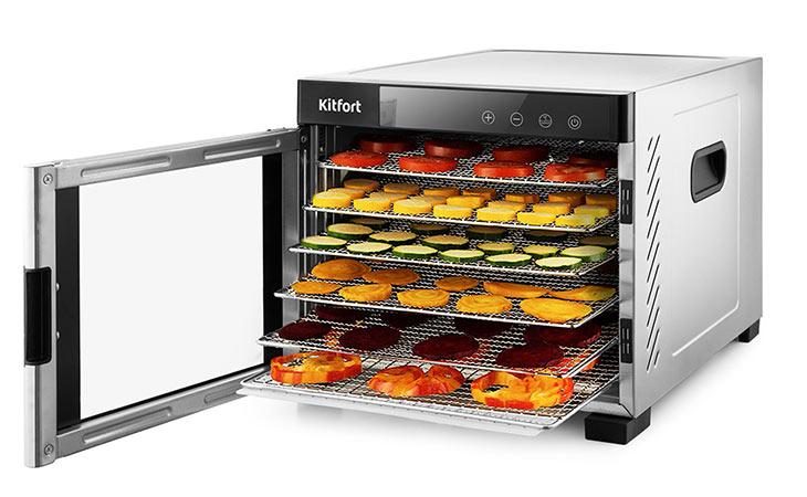 Сушилка для овощей и фруктов Kitfort KT-1911