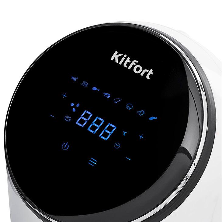 Панель управления у Kitfort KT-2206 Eva