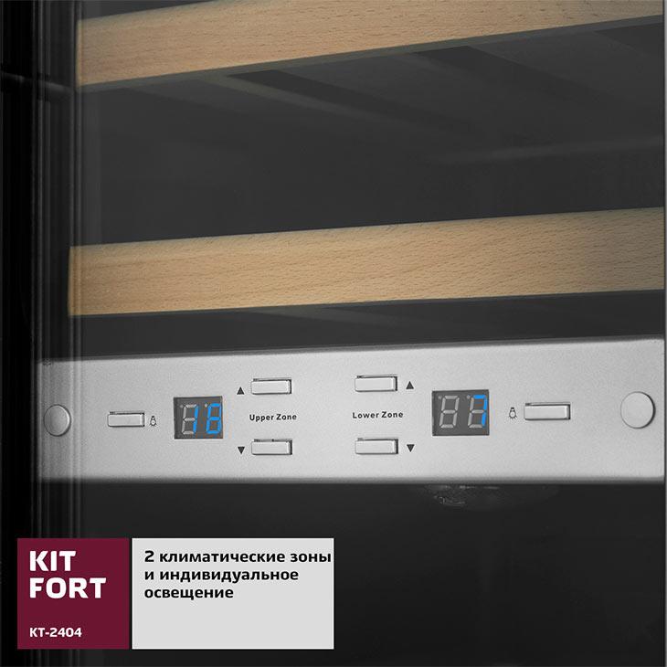Климатические зоны у Kitfort KT-2404