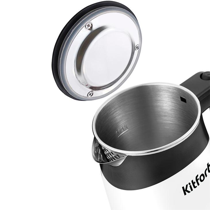 Большое горлышко и крышка у Kitfort KT-639