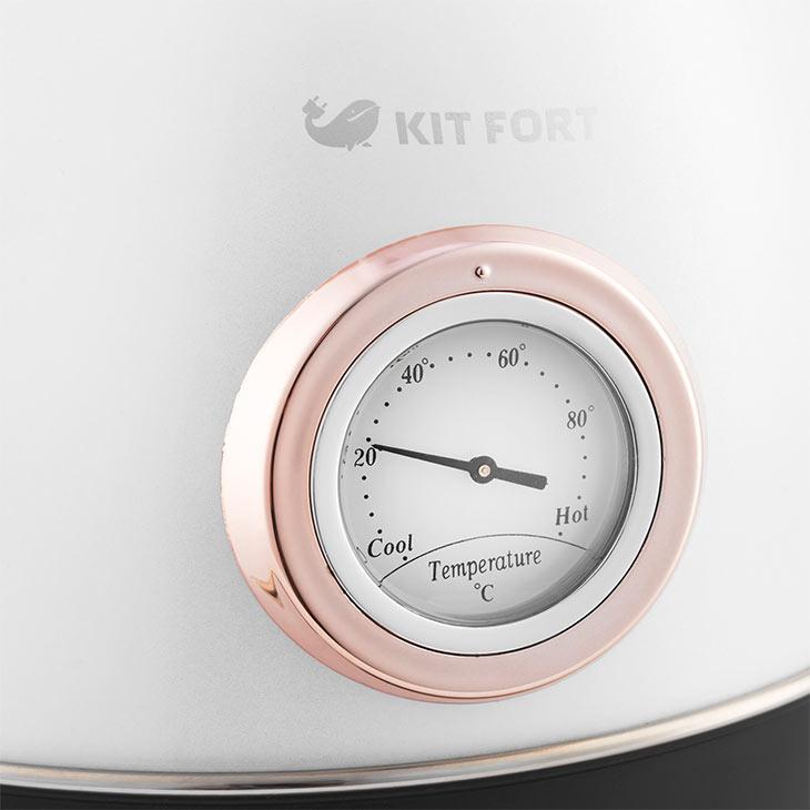 Встроенный термометр у Kitfort KT-664-1