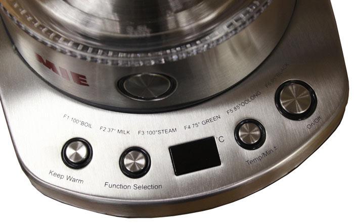 Панель управления чайником