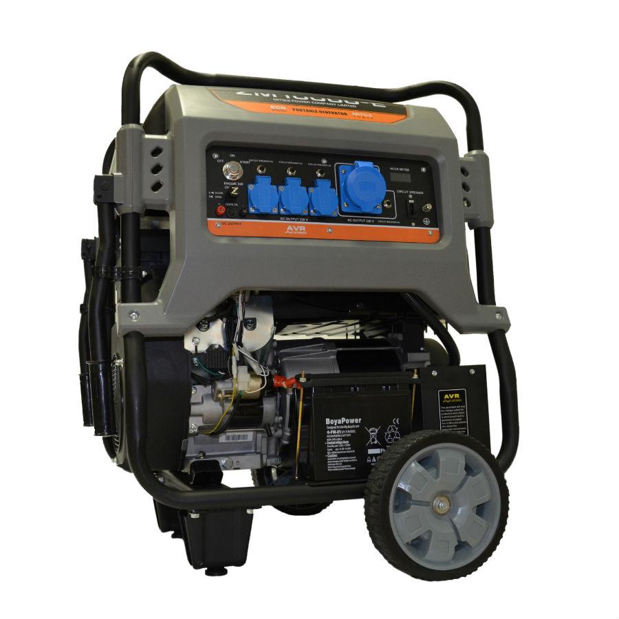Бензиновый генератор mitsui двигатель на генератор бензиновый huter