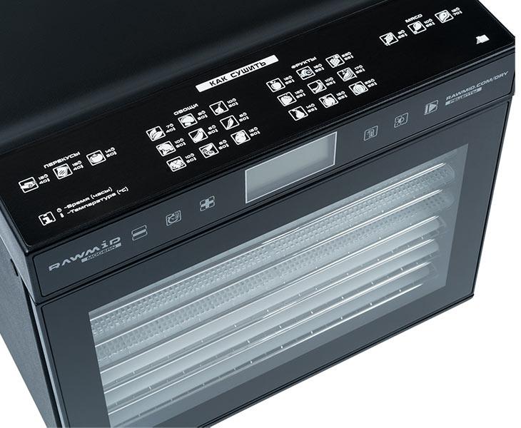 Панель управления у Rawmid Modern RMD-07-black